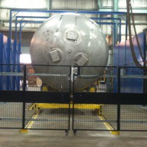 High Pressure Vessel Inspection System